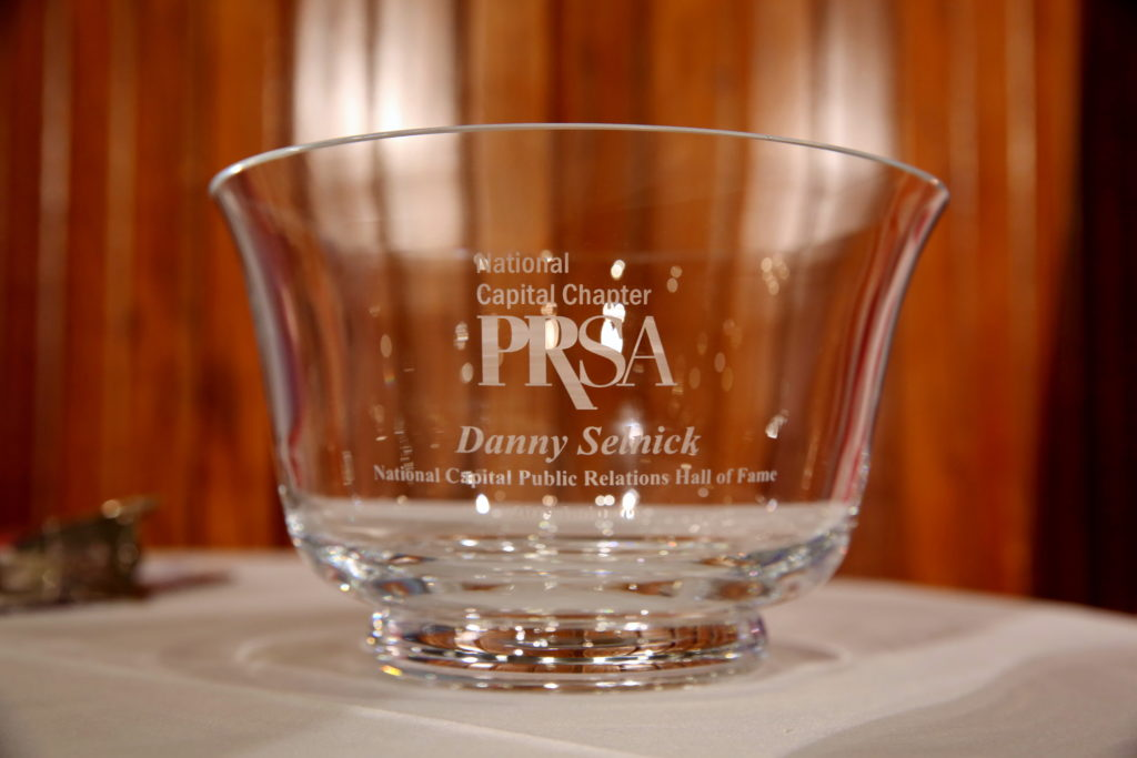 Danny Selnick Honored for His Commitment to the PR Profession