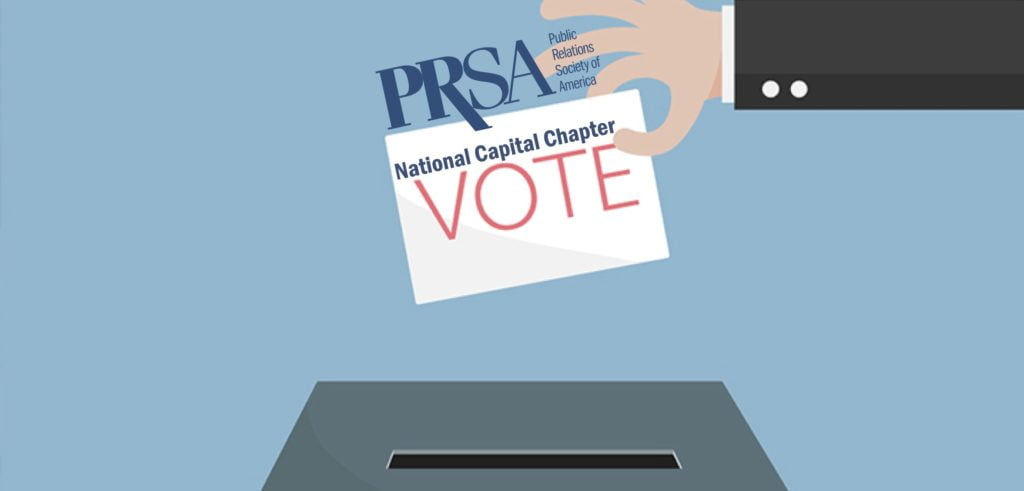Vote Now for the 2020 PRSA-NCC Board of Directors!