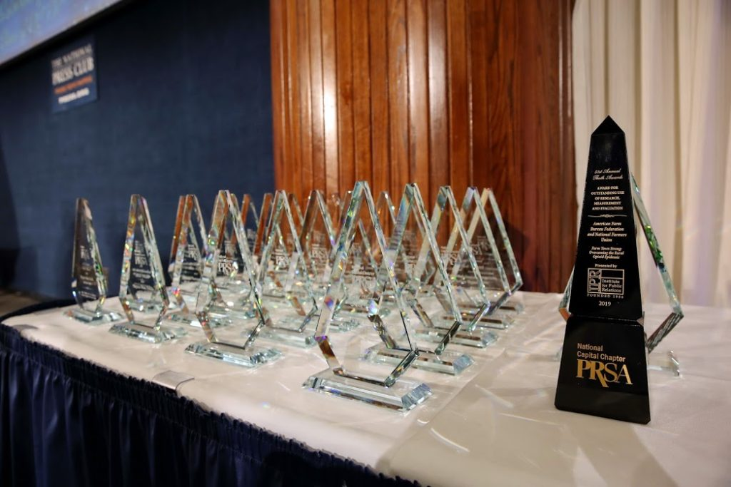 PRSA National Capital Chapter Awards Submissions Open to Honor Outstanding Communications Programs and Professionals