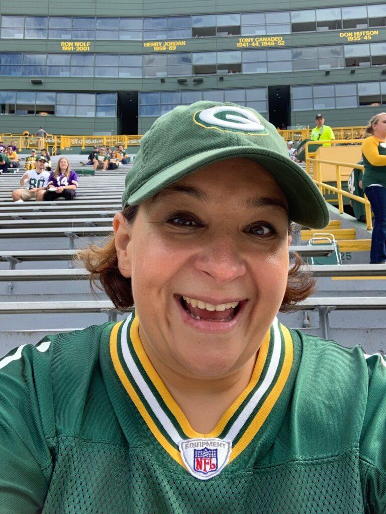 Meet Sabrina: Green Bay Packers Fan and Associations Expert