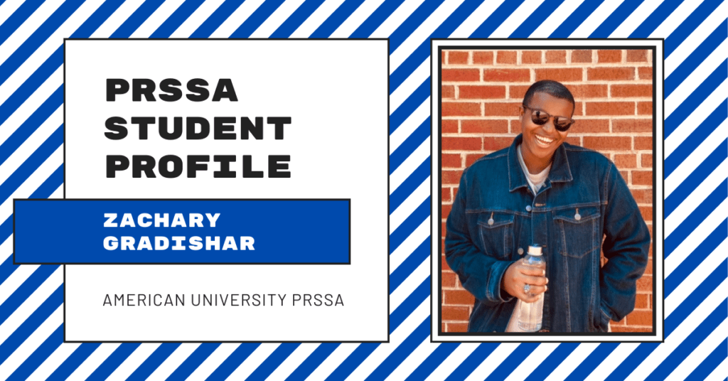 PRSSA Student Profile: Zachary Gradishar