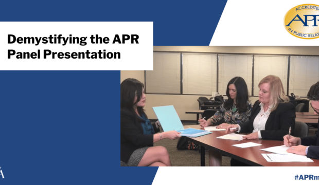 demystifying the apr panel