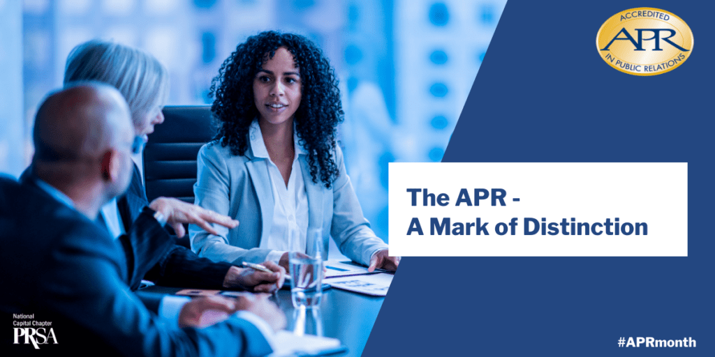 The APR – A Mark of Distinction